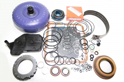 Transmission Torque Converter >> 4l60e Master Rebuild Kit Hd Torque Converter Transgo Shift Kit 4l65e