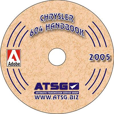Chrysler A604 41te ATSG Automatic Transmission Service Update Manual  Rebuild Overhaul Book