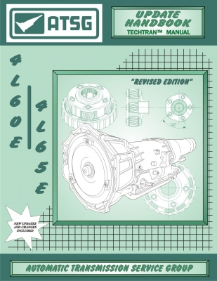 4L60E ATSG Transmission Supplement Update Service Manual 4L65E 4L70E  Rebuild Overhaul Book GM