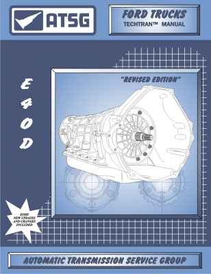 ford e4od atsg transmission service manual 89 up rebuild overhaul 700R4 Fluid Diagram product details