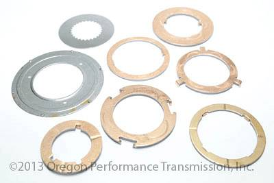 Ford A4LD 4R44E 4R55E Transmission Thrust Washer Kit with Aluminum Front  Planetary Washers Set