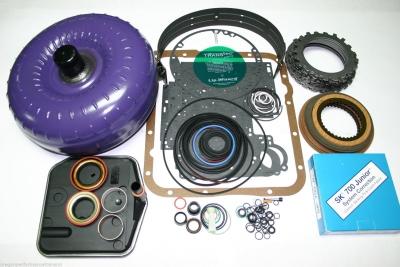 Gm 700r4 Transmission >> 700r4 Master Rebuild Kit Hd Torque Converter Transgo Sk 700 Jr Shift Kit Overhaul Package Gm 4l60