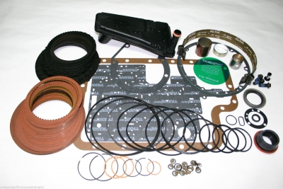 e4od 4r100 hp rebuild kit automatic transmission master overhaul raybestos  stage 3 red ford lincoln