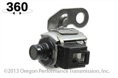 Rostra 52-0575 Toyota A750E Shift Solenoid 2 B On Off Black Connector Short  Black Snout A750F 03-On