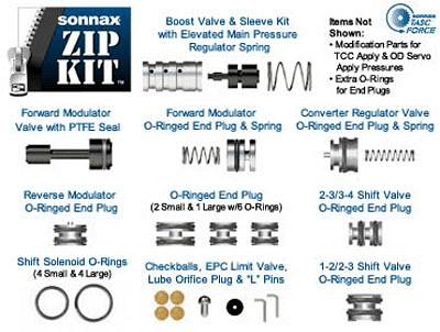 Superior Ford 4R44E 4R55E 5R55E Boost Valve /& Sleeve Kit