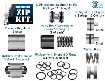 Sonnax VW ZF-6HP19 Zip Kit ZF-6HP26 ZF-6HP32 Ford 6R60 6R80 Automatic  Transmission