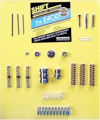 Superior Acura on Superior Ford E4od E40d Automatic Transmission Shift Correction Kit W